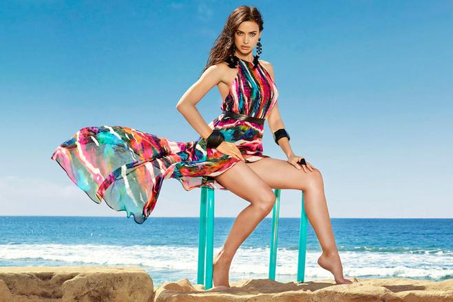 Ирина Шейк в рекламной кампании Bebe весна-лето 2016