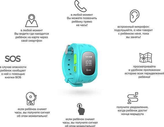 детские умные часы smart watch