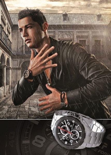 Криштиану Роналдо в кампании Time Force