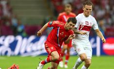 Россия сыграла вничью с Польшей