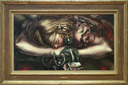 "Давид Альфаро Сикейрос, ""Сон"", 1939"