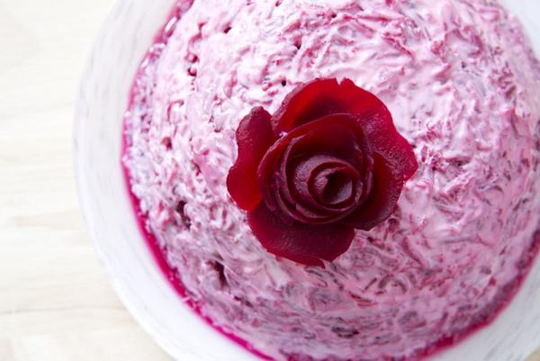 как сделать розу из свеклы пошаговая инструкция - фото 9