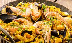 Классический рецепт приготовления испанской паэльи с морепродуктами