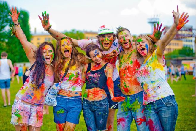 3 мая: красочный забег ColorsGO в Парке культуры и отдыха им. Бабушкинаи