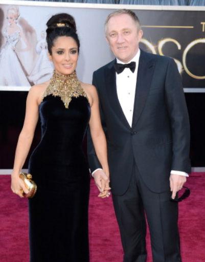 Сальма Хайек (Salma Hayek) с мужем