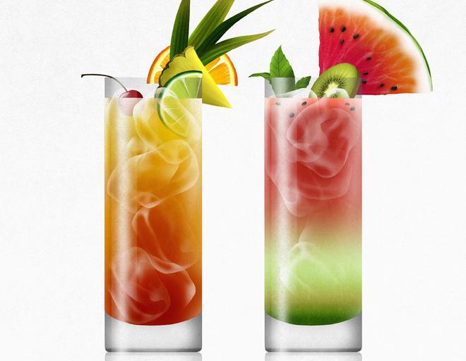 коктейли фруктовые рецепты для похудения