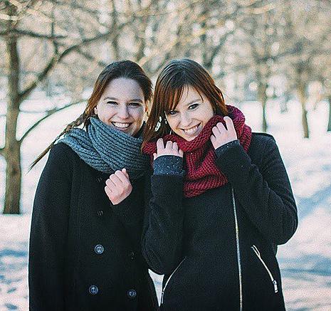 Яна и Ольга Музыченко, фото