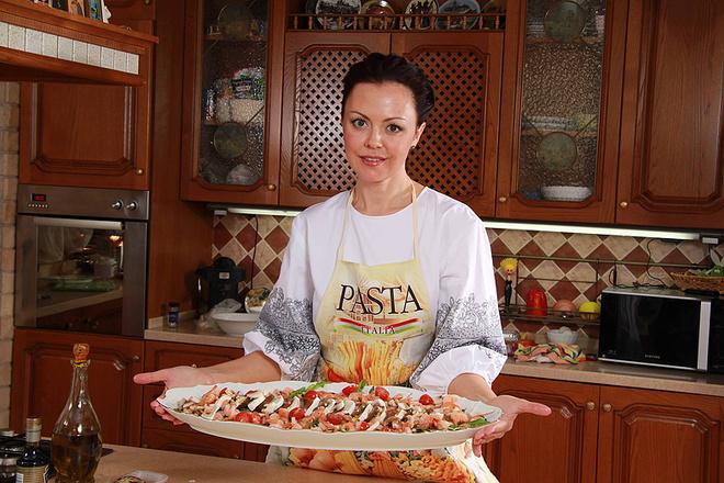 Ольга любит готовить, фото