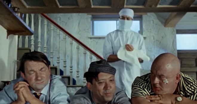 Герои советских фильмов поют песню Земфиры «Хочешь»