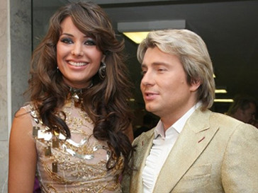 Оксана Федорова и Николай Басков