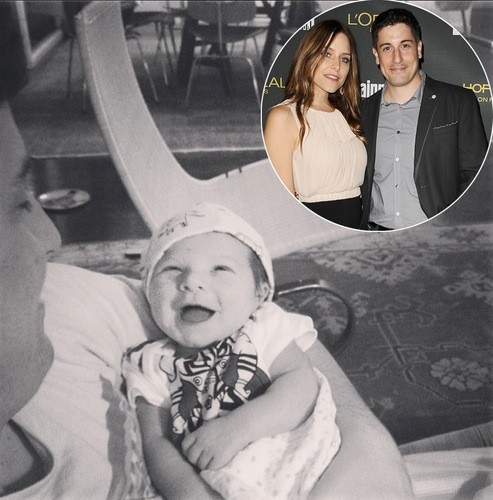 Джейсон и Дженни Биггс и их сын Сид