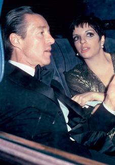 Хальстон с Лайзой Миннелли, 1974 год.