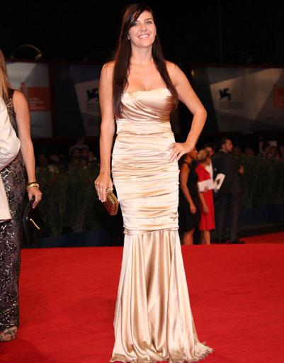 Джизелла Маренго (Gisella Marengo) на 69-ом Венецианском кинофестивале