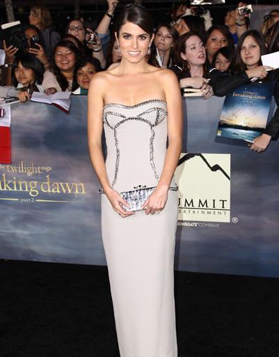 """Никки Рид (Nikki Reed) на лос-анджелесской премьере """"Сумерки. Сага. Рассвет. Часть 2"""""""