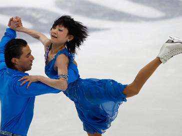 Юко Кавагути и Александр Смирнов представят нашу сборную в состязаниях спортивных пар
