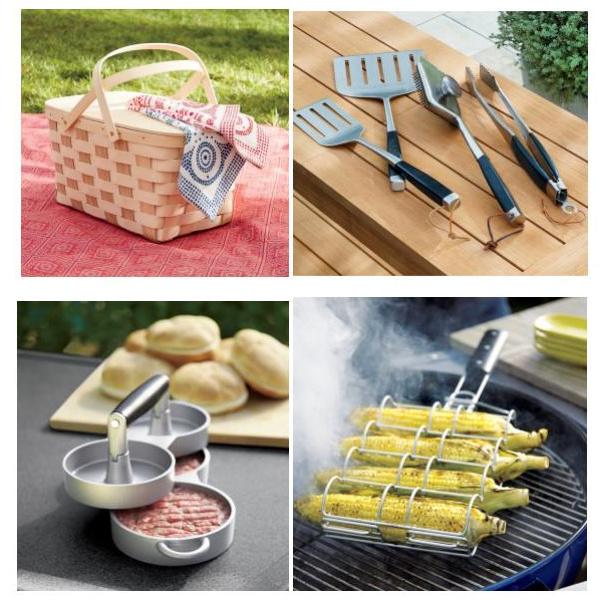 Посуда для гриля и пикника