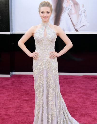 """Аманда Сайфред (Amanda Seyfried) на премии """"Оскар""""-2013"""