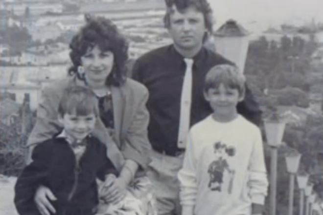 Сергей Лазарев с семьей фото