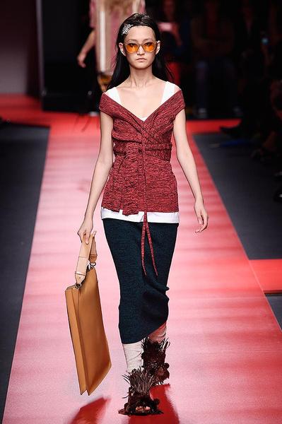 Неделя моды в Милане: день первый   галерея [2] фото [5]