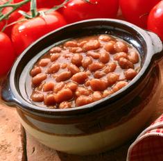 Как приготовить фасоль в томатном соусе.
