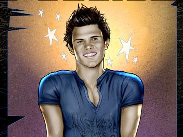 Тейлор Лотнер (Taylor Lautner) появился на обложке комикса