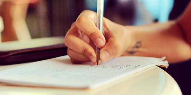 самый красивый почерк
