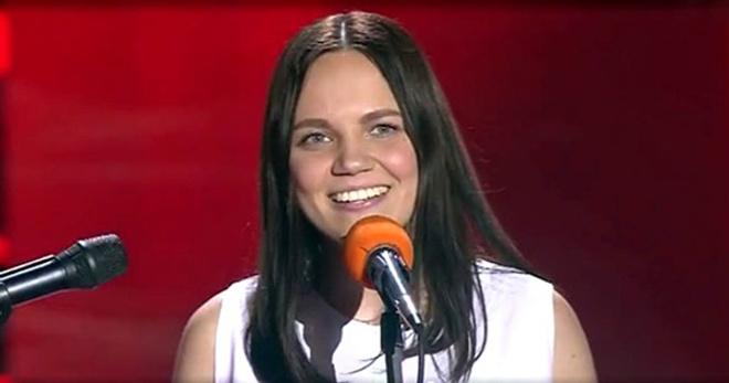 Эллина Решетникова на шоу Голос 4 сезон