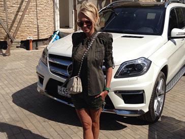Яна Рудковская решила сменить модель личного автомобиля