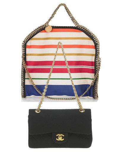 Сумка Stella McCartney, сумка Chanel Vintage