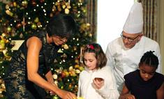 Мишель Обама нарядила 19 елок
