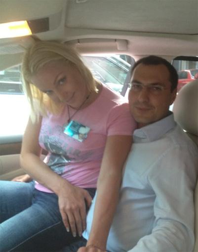 Анастасия Волочкова и Игорь Вдовин