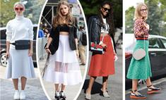 Девять способов носить юбку-миди в этом сезоне