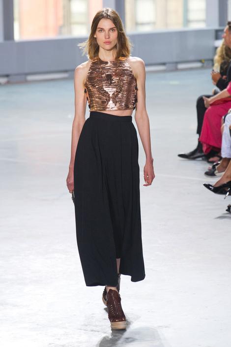 Тренд коллекции Proenza Schouler на Неделе Моды в Нью-Йорке: геометрия