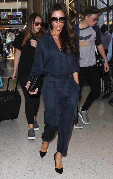 Виктория Бекхэм в аэропорту Лос-Анджелеса