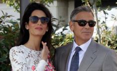 Клуни продал свадебные фото ради благотворительности