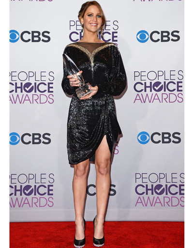 Дженнифер Лоуренс (Jennifer Lawrence) на People's Choice Awards 2013