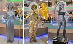 Фестиваль живых статуй прошел в Иркутске