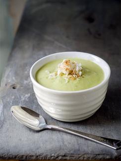 Суп-крем из авокадо