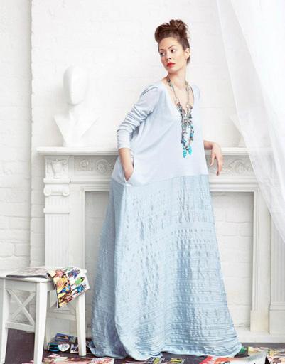 Выпускной: платье из коллекции Daria Bardeeva, весна-лето 2012