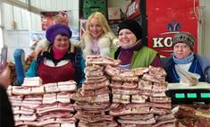 Анастасия Волочкова шокировала продавщиц сала