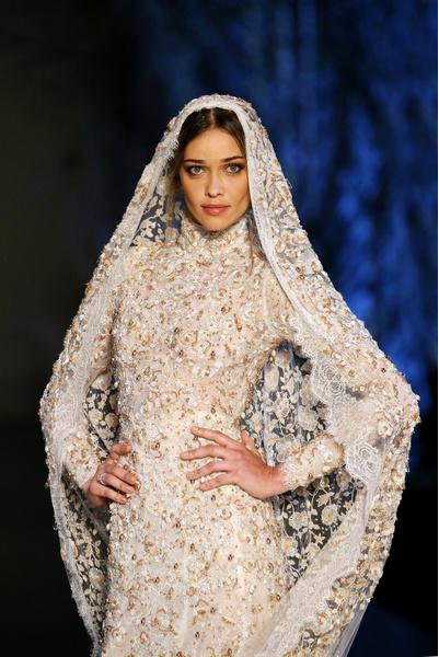 Свадебное  высокая мода
