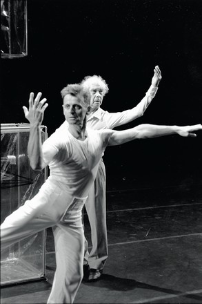 Михаил Барышников и Мерс Каннингем, 1999 год
