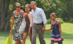 Обама раздал индейку бедным в канун Дня благодарения