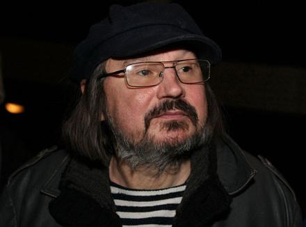 Режиссер Алексей Балабанов на премьере своего фильма «Я тоже хочу», 10 декабря 2012
