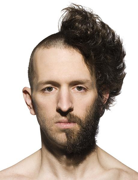 мужчина, борода, стрижка
