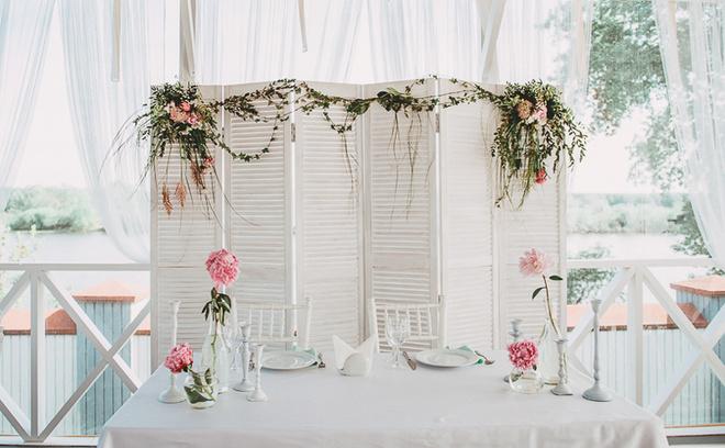 Мятно-коралловая свадьба