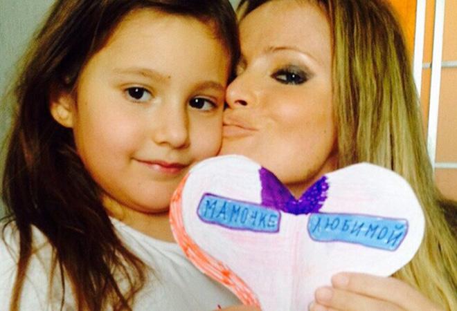 Дана Борисова с дочкой Полиной фото