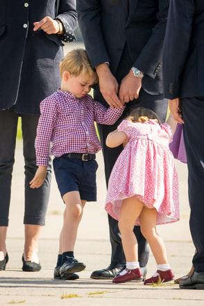Принц Уильям с детьми