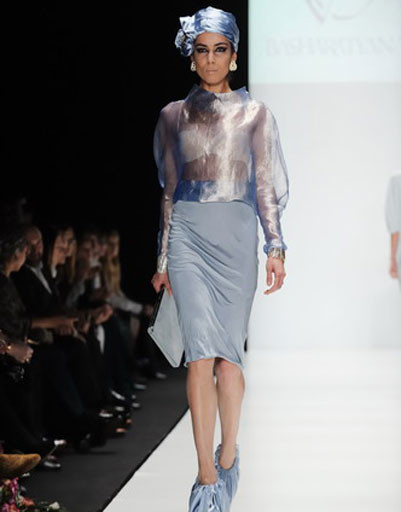 Mercedes-Benz Fashion Week: BΛSHΛRΛTYΛN V, весна-2012
