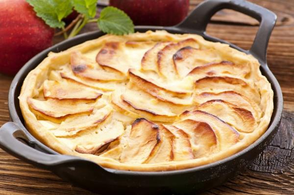Яблочный пирог по французскому рецепту